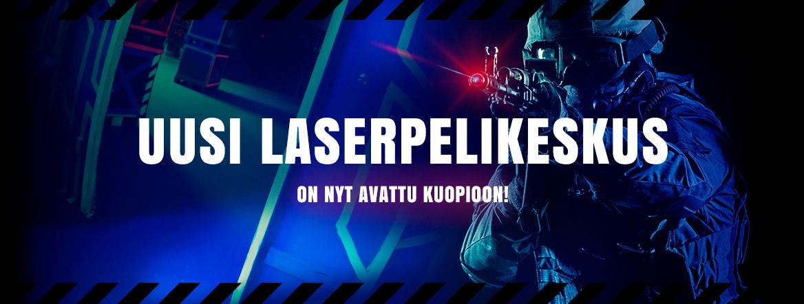 Uusi Laserpelikeskus Kuopiossa