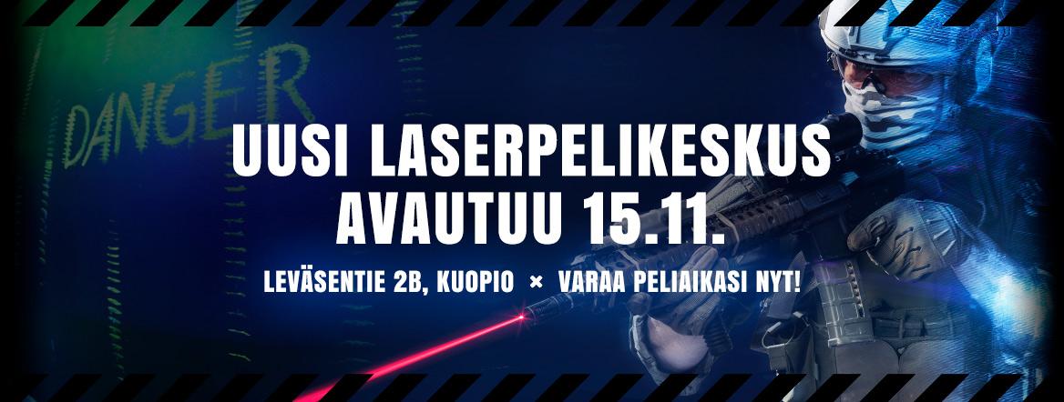 Laserpelikeskus Leväsentie 2b