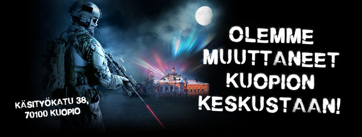 GameCenter Laserpelikeskus Kuopio keskusta
