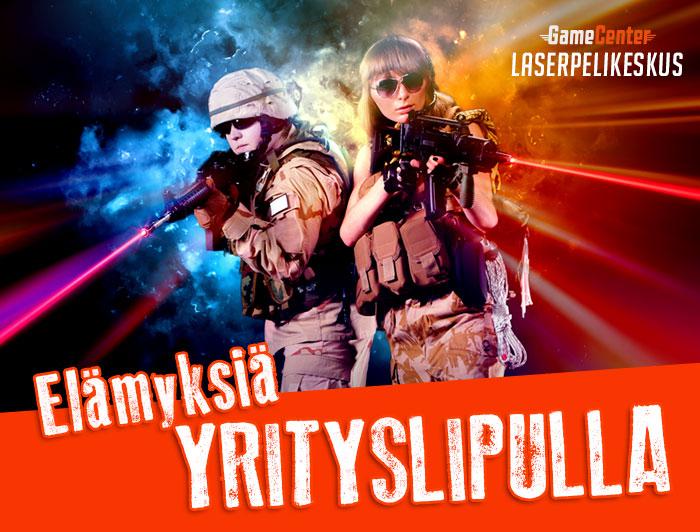 Yrityslippu Laserpelikeskus Kuopio