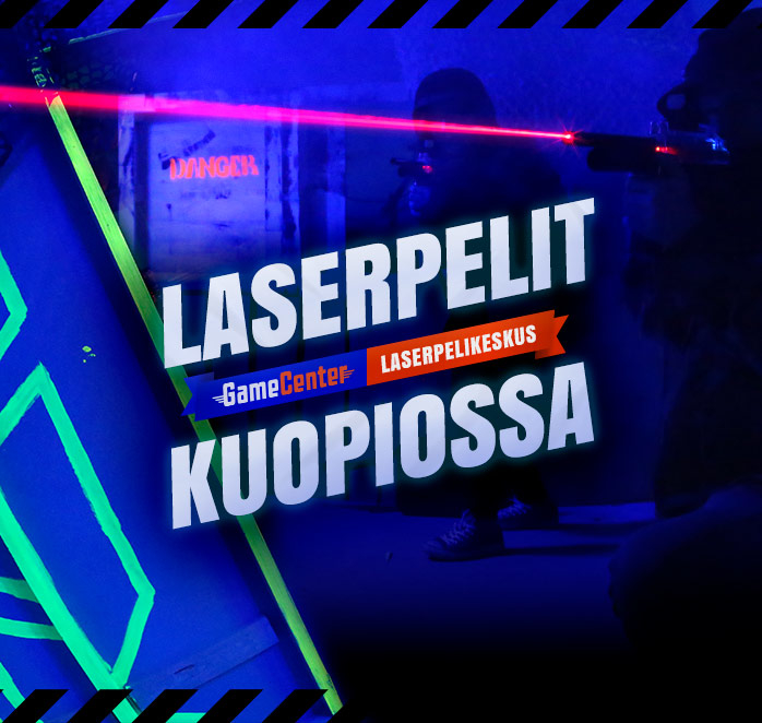 GameCenter Laserpelikeskus laser zone